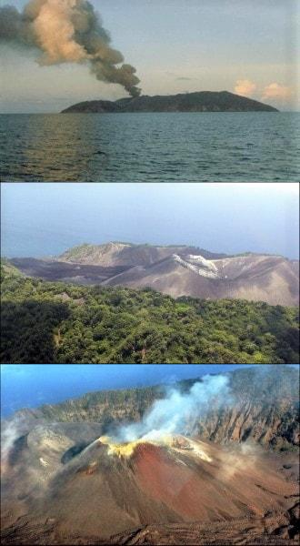 last eruption of barren island
